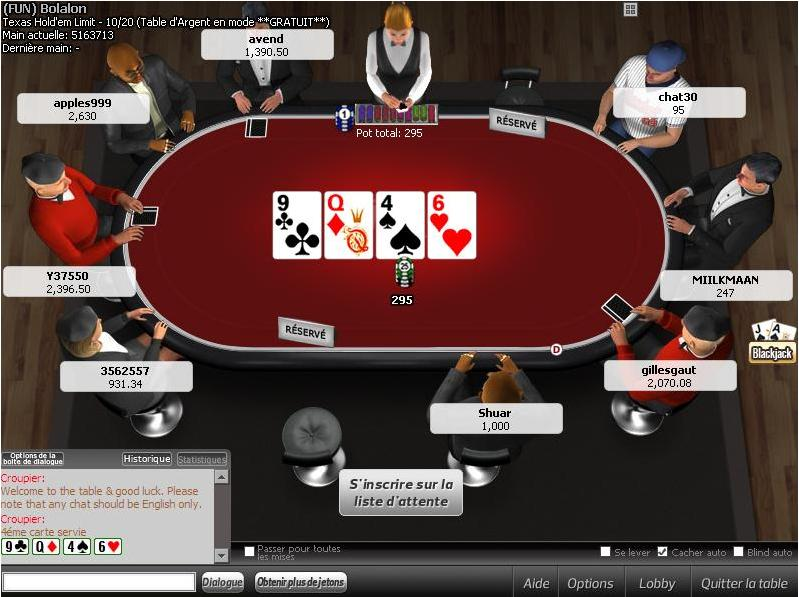 Screenshot Winner Poker